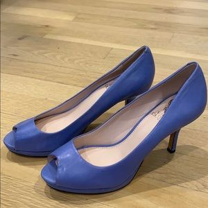 Vince Camuto Blue Open toe heels 6
